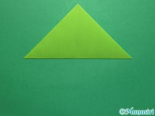 折り紙で簡単なぴょんぴょんカエルの折り方手順6