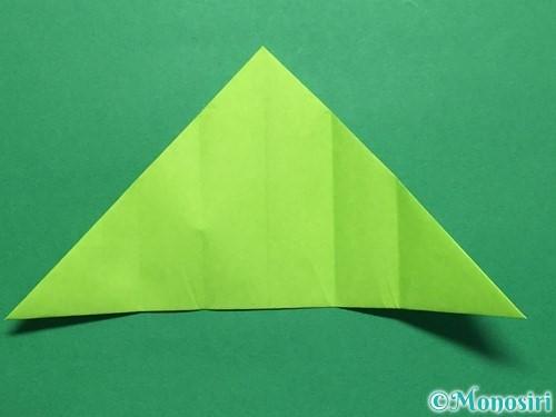 折り紙で簡単なぴょんぴょんカエルの折り方手順10