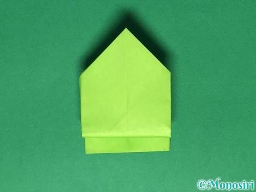 折り紙で簡単なぴょんぴょんカエルの折り方手順20