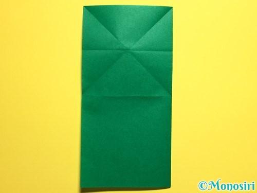 折り紙でぴょんぴょんカエルの折り方手順6