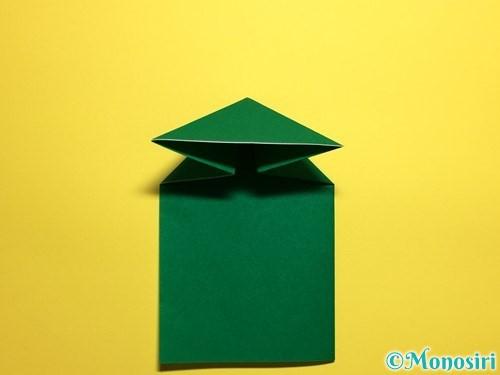 折り紙でぴょんぴょんカエルの折り方手順8