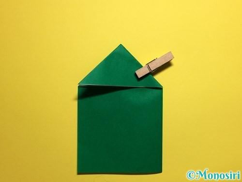 折り紙でぴょんぴょんカエルの折り方手順9