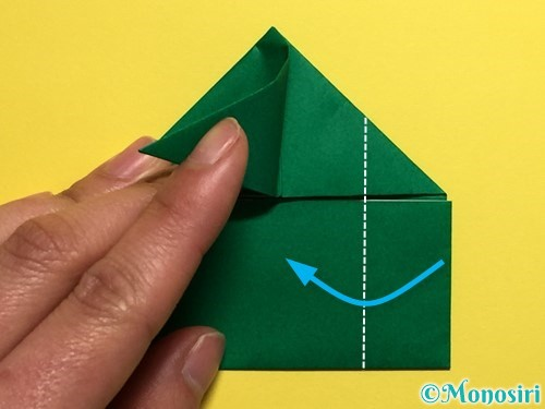 折り紙でぴょんぴょんカエルの折り方手順13