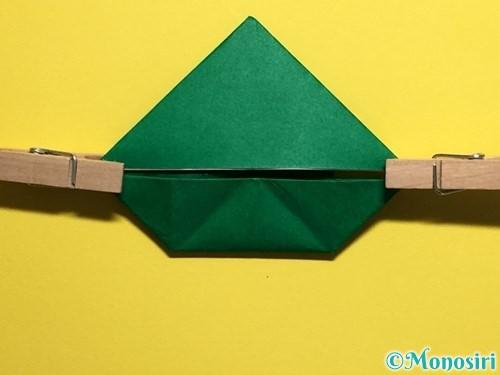 折り紙でぴょんぴょんカエルの折り方手順24