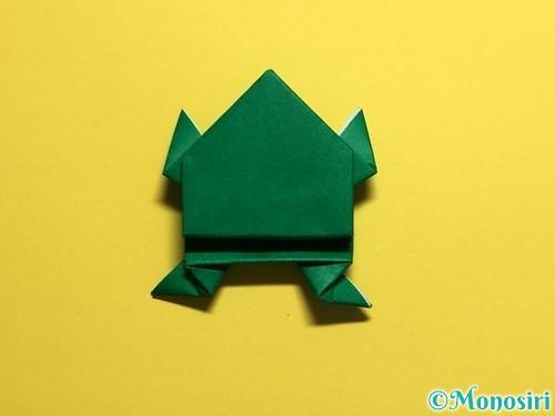 折り紙でぴょんぴょんカエルの折り方手順33