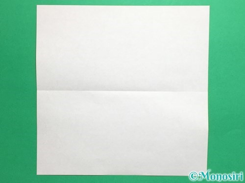 折り紙で簡単な財布の折り方手順2