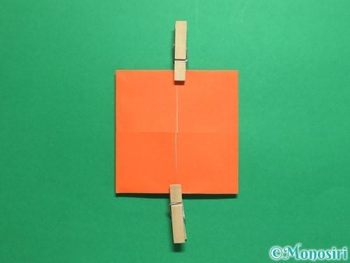 折り紙で簡単な財布の折り方手順9