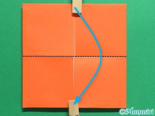 折り紙で簡単な財布の折り方手順10