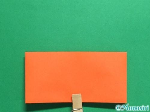 折り紙で簡単な財布の折り方手順11