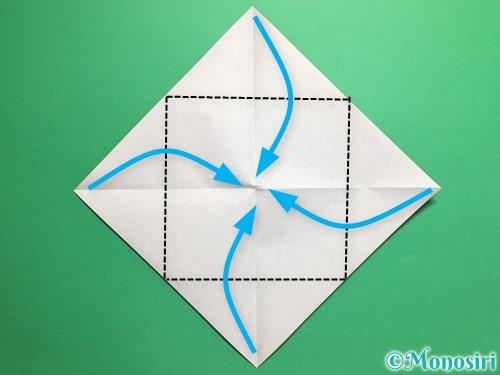 折り紙でトントン相撲の折り方手順3