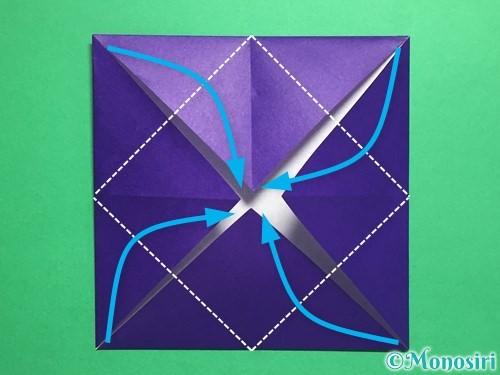折り紙でトントン相撲の折り方手順5
