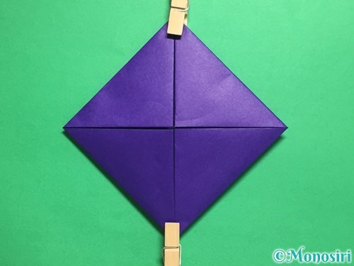 折り紙でトントン相撲の折り方手順6
