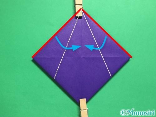 折り紙でトントン相撲の折り方手順7
