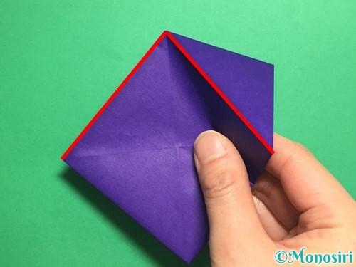 折り紙でトントン相撲の折り方手順8
