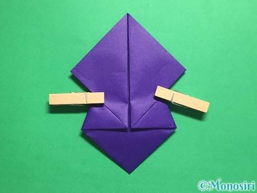 折り紙でトントン相撲の折り方手順11