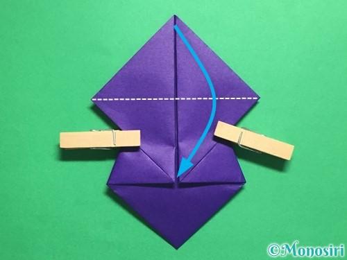 折り紙でトントン相撲の折り方手順12