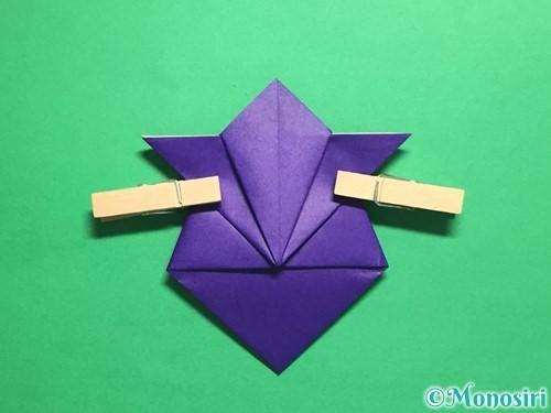 折り紙でトントン相撲の折り方手順15