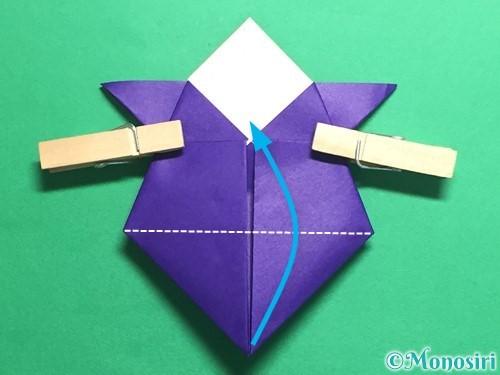 折り紙でトントン相撲の折り方手順17
