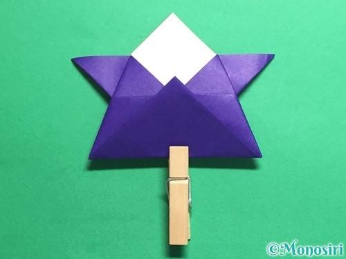 折り紙でトントン相撲の折り方手順18
