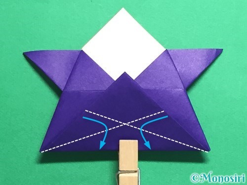 折り紙でトントン相撲の折り方手順19