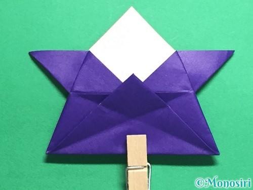 折り紙でトントン相撲の折り方手順20