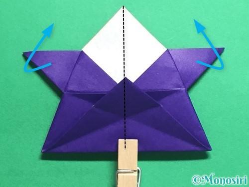 折り紙でトントン相撲の折り方手順21