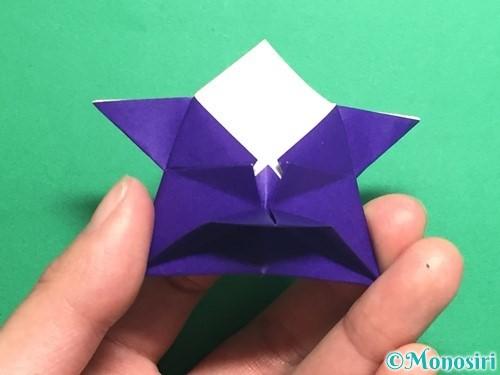 折り紙でトントン相撲の折り方手順22