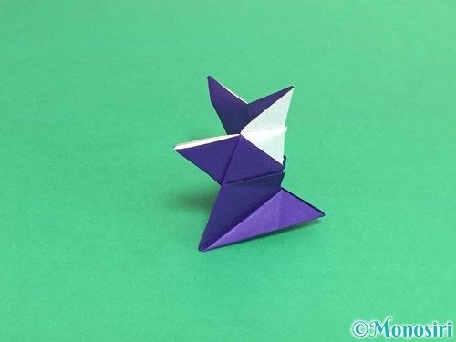 折り紙でトントン相撲の折り方手順25