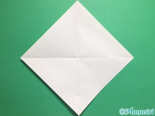 折り紙でパクパクの折り方手順2