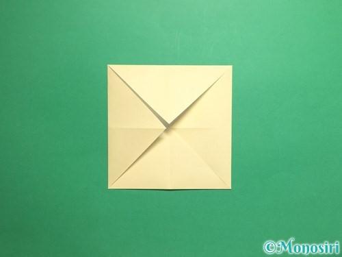 折り紙でパクパクの折り方手順4