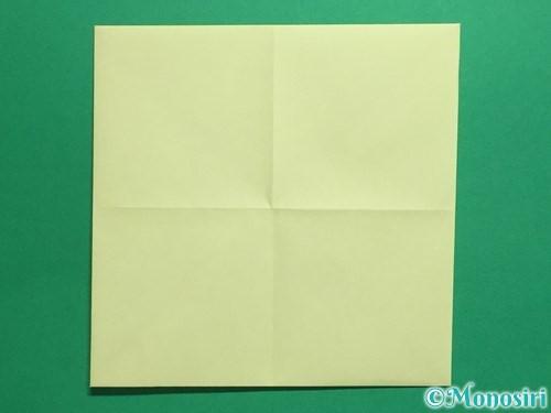 折り紙でパクパクの折り方手順5