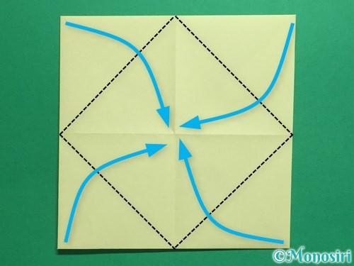 折り紙でパクパクの折り方手順6