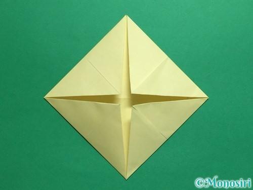 折り紙でパクパクの折り方手順7
