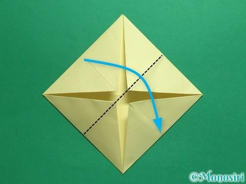 折り紙でパクパクの折り方手順8