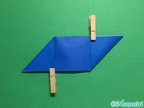 折り紙でめんこの折り方手順5