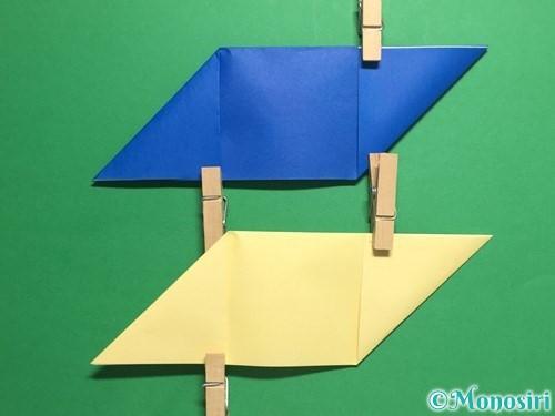 折り紙でめんこの折り方手順6