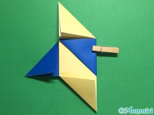 折り紙でめんこの折り方手順10
