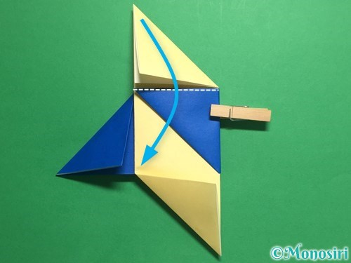 折り紙でめんこの折り方手順11