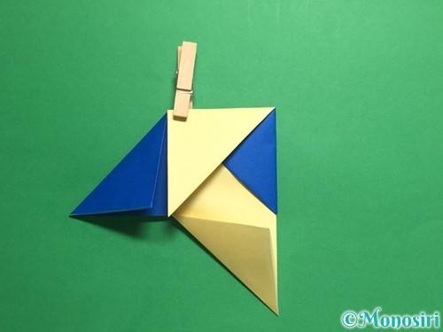 折り紙でめんこの折り方手順12