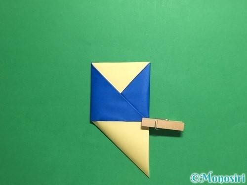 折り紙でめんこの折り方手順14