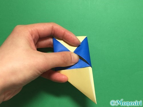 折り紙でめんこの折り方手順16