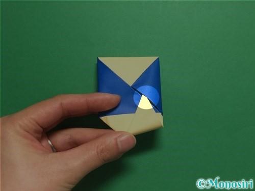 折り紙でめんこの折り方手順17
