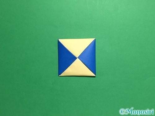 折り紙でめんこの折り方手順18