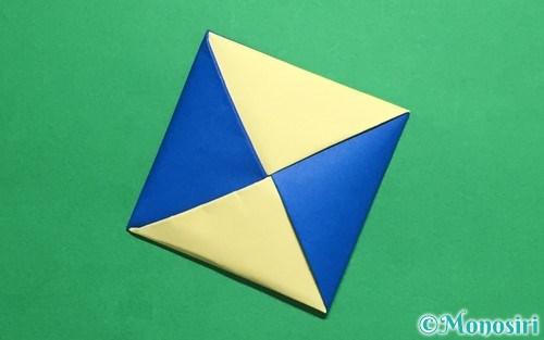 折り紙で折っためんこ