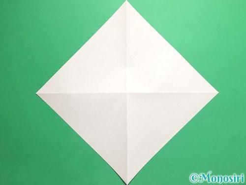 折り紙で羽ばたく鳥の折り方手順3
