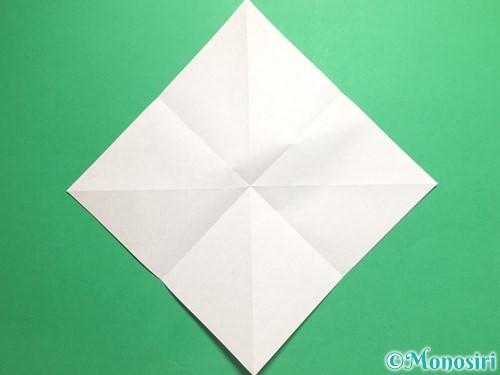 折り紙で羽ばたく鳥の折り方手順5