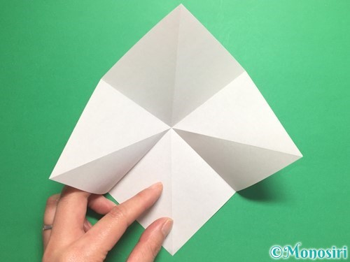 折り紙で羽ばたく鳥の折り方手順6
