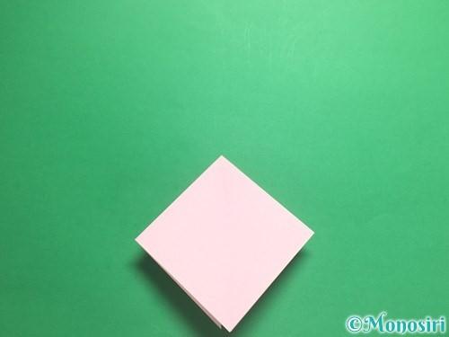 折り紙で羽ばたく鳥の折り方手順8