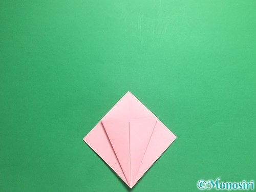 折り紙で羽ばたく鳥の折り方手順10