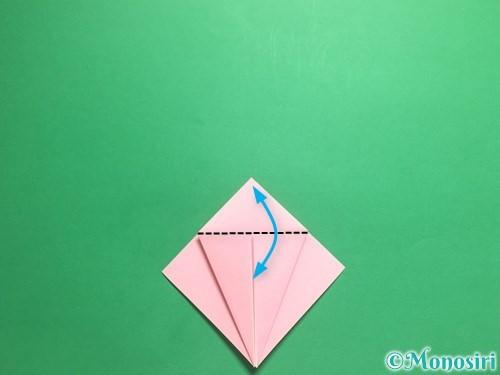 折り紙で羽ばたく鳥の折り方手順11
